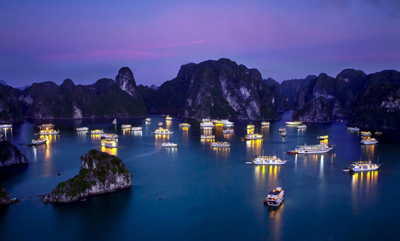 Overnight on Ha Long Bay on the most luxurious cruise ever