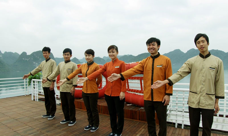 Safety and Security onboard a Ha Long Bay Sealife Legend Cruise